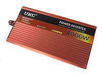 Преобразователь авто инвертор UKC 12V-220V AR 4000W c функции плавного пуска