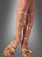 Карнавальная обувь для образа Клеопатры