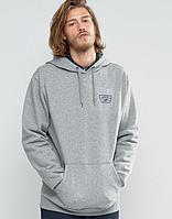 Размер М Худи Vans CA/NY серое с лого, унисекс (мужское, женское, детское) Толстовка осень-зима
