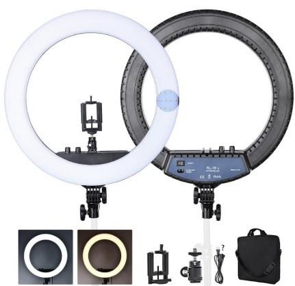 Кольцевая LED лампа RL-18 с зеркалом + Штатив
