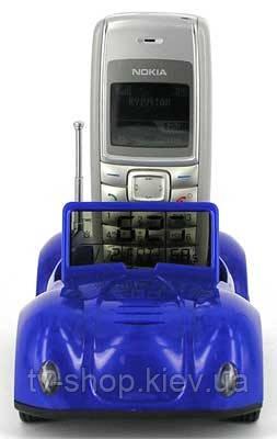 Подставка для телефона с часами  МАШИНА