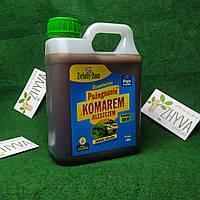 Отпугивает средство Zielony Dom от комаров (ЗАПАСКА) для газона, сада 950мл