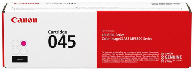 Тонер-картридж Canon 045 MF610/630 Magenta 1300 страниц
