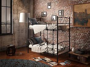 Металлическая двухъярусная кровать Виола ТМ Tenero, фото 2