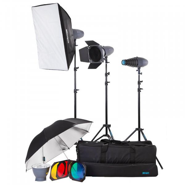Набор студийного света Mircopro MQ-200S unique kit (MQ-200SKITUN)