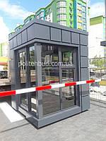 Купить киоск, ларек, торговый павильон, пост охраны с фасадом из алюминиевого композита