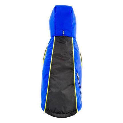 Утепленная куртка Ferplast Equipe TG 43 водонепроницаемая, для собак, синяя, 43 см, фото 2