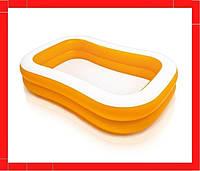 Детский надувной бассейн Intex 57181 «Мандарин» Надувной бассейн для малышей Детский бассейн Бассейн для детей