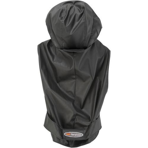 Плащ-дощовик Ferplast Trench Black TG 50 для собак, чорний, 50 см