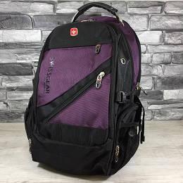 Рюкзак Swissgear Фиолетовый  35 л. 32х25х46 см.