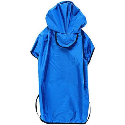 Плащ-дождевик Ferplast Sailor Blue TG 37 для собак, синий, 37 см, фото 2