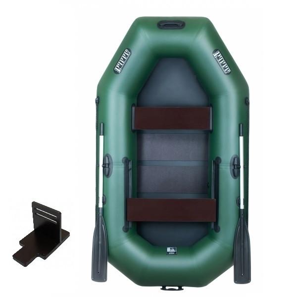Надувная лодка Ладья ЛТ-240-СБЕТ со слань-ковриком