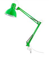 ТЕРЦИАЛ Лампа настольная, зеленый, 40355857, IKEA, ИКЕА, TERTIAL