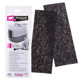 Ferplast L135 Filter For Toilette запасний вугільний фільтр для котячих туалетів