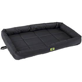 Матрац Tender Tech 75 Black Cushion для собак, чорний, 76x53x5 см