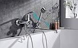Смеситель (кран) для ванны ZEGOR NHK7-A однорычажный класса стандарт, фото 5