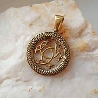 Кельтский узел кулон из бронзы