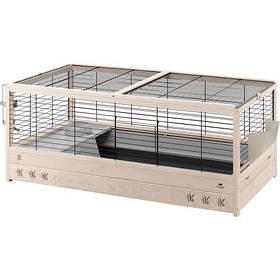 Деревянная клетка Ferplast Arena 120 Black для кроликов