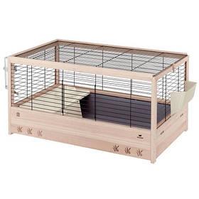 Деревянная клетка Ferplast Arena 100 Black для кроликов