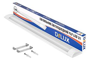 Светодиодный светильник настенно-потолочный DELUX FLF LED31 18W 4100K, фото 2