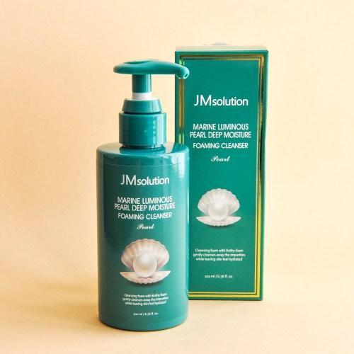 Глубоко очищающая пенка для лица JM Solution Marine Luminous Pearl Deep Moisture Foaming Cleanser, 200 ml