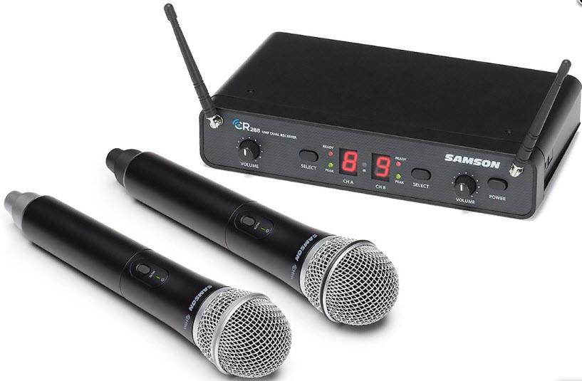 SAMSON SWC288HQ6I UHF CONCERT 288 w/Q6 адиосистема диапазона UHF с двумя ручными динамическими микрофонами