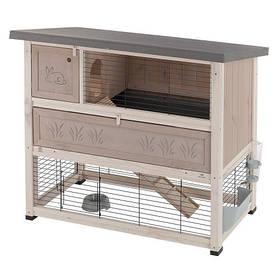 Двухэтажная деревянная клетка Ferplast Ranch 120 для кроликов
