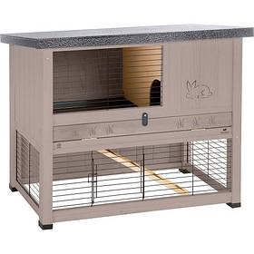 Дворівнева клітина Ferplast Ranch 100 Restyling Dove/grey для кроликів з північної сосни