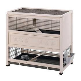 Деревянная клетка Ferplast Cottage для кроликов 108 x 59 x 102.5 см