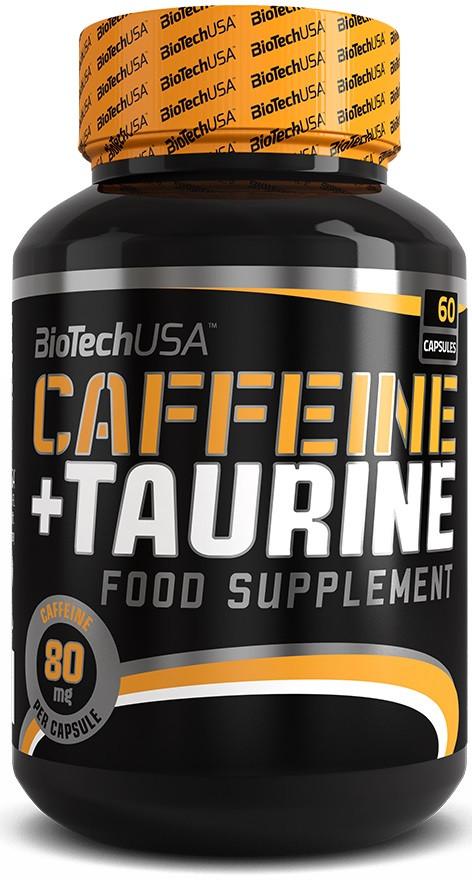 BioTech Caffeine+Taurine 60 caps