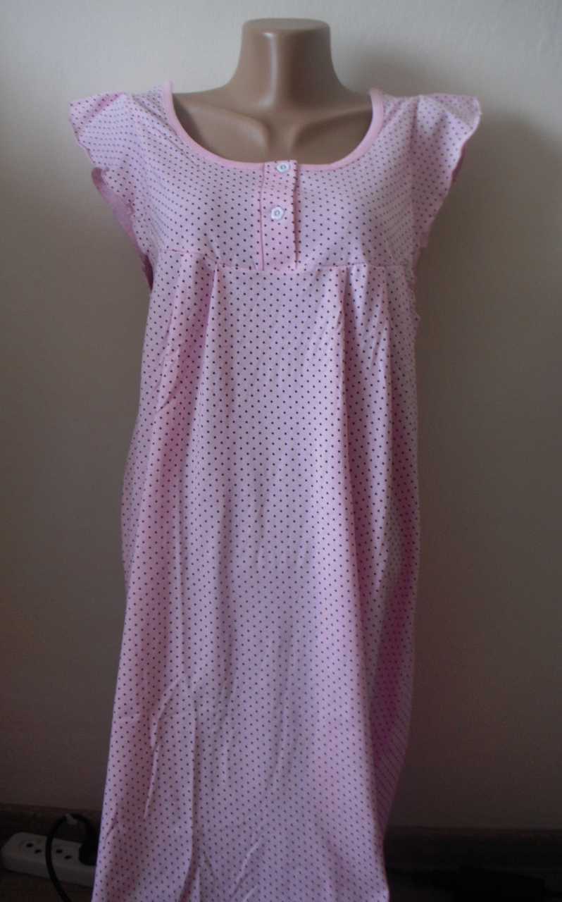 Ночная рубашка 100% хлопок  на  брительках  FAZO-R размер 52-54