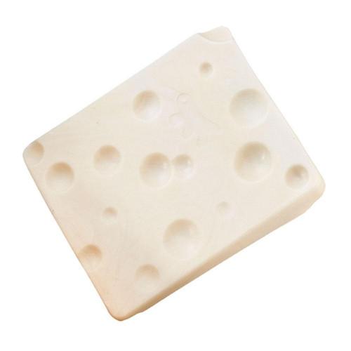 Жевательная игрушка Ferplast Goodb Tin & Nat Bag Cheese для грызунов в форме сыра