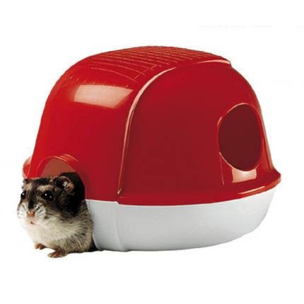 Пластиковый домик Ferplast Dacia 4634 Hamster House для хомяков, фото 2