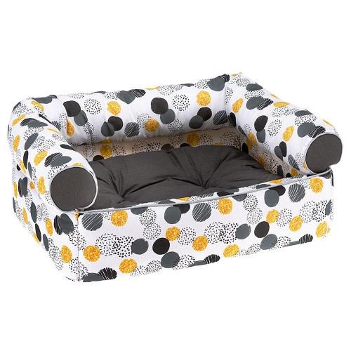 Мягкий диван Pasha' для кошек и собак, 60x43x25 см
