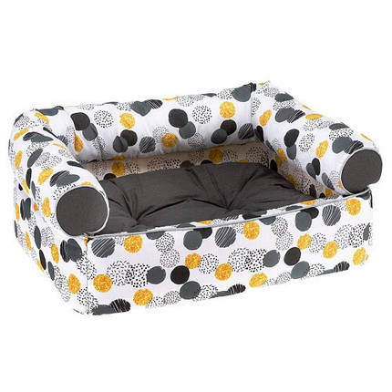 Мягкий диван Pasha' для кошек и собак, 60x43x25 см, фото 2