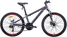 """Велосипед подростковый 24"""" Leon JUNIOR AM DD 2020, фото 2"""
