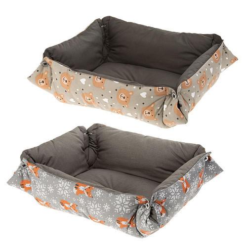 Мягкий лежак Perla 40 для собак и кошек, 42x36x12 см