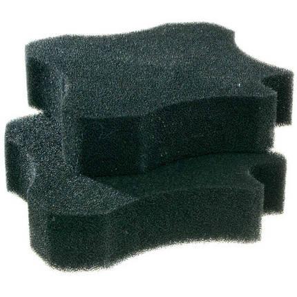 Губки з активованим вугіллям Ferplast Bluclear 700-1100 для зовнішнього фільтра Bluextreme, 19,5x18,5x4,5 см, фото 2