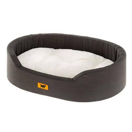 Лежак с искусственным мехом Dandy F 95 Х/б для собак и кошек, 95x60x23 см, фото 2