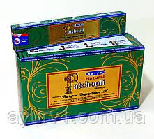 Аромапалички, Пахощі індійські / Satya - incense sticks Patchouli / Satya / 15 г