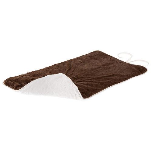 Двусторонний меховой ковер Nanna  85 Soft Blanket Brown для собак и кошек, коричневый