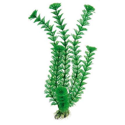 Пластиковое декоративное растение Ferplast BLU 9061 Plastic Cabomba для аквариума, 30 см, фото 2