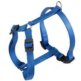 Нейлонова шлейка Ferplast Champion P XL Blue для собак, синя, А: 53x84, B: 60x98 см