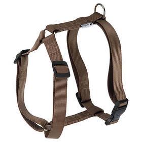 Нейлонова шлейка Ferplast Champion P XL Brown для собак, коричнева, А: 53x84, B: 60x98 см