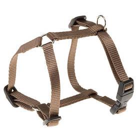 Нейлонова шлейка Ferplast Champion P XS Brown для собак, коричнева, А: 22x38, B: 25x38 см