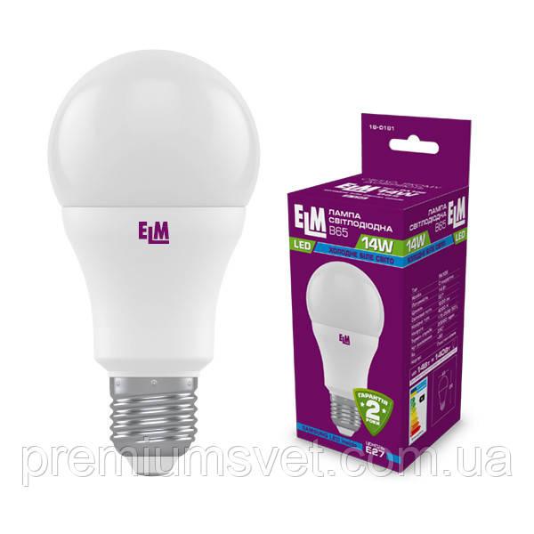 Лампа ELM Led B65 14W PA10S E27 4000 (18-0181)