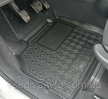 Водительский коврик в салон Renault Scenic II с 2003-2009 гг. (Avto-gumm)