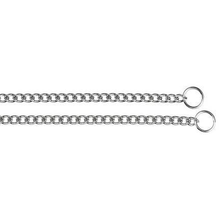 Металлическая рывковая цепь Ferplast Chrome CS1516 для собак, 34 см, фото 2