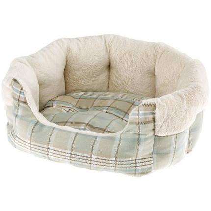 Меховой диван Etoile 4 Green Dogbed для собак и кошек, 60x50x21 см, фото 2