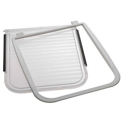 Ferplast Kit запасной клапан для створчатых дверей Swing 9 Flap White для домашних животных, фото 2